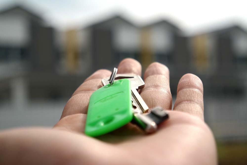 De sleuteloverdracht